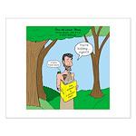John the Baptist Diet Small Poster