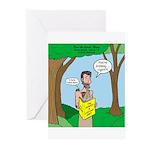 John the Baptist Diet Greeting Cards (Pk of 10)