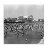 Coney Island Brighton Beach 1826584 Tile Coaster