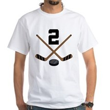 Hockey Player Number 2 Shirt