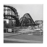 Coney Island Roller Coaster 1826616 Tile Coaster