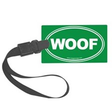 WOOF! Luggage Tag