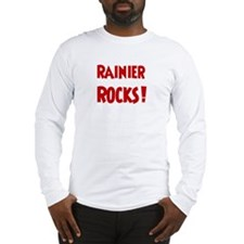 Rainier Rocks Long Sleeve T-Shirt