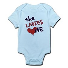 The ladies love me Infant Bodysuit