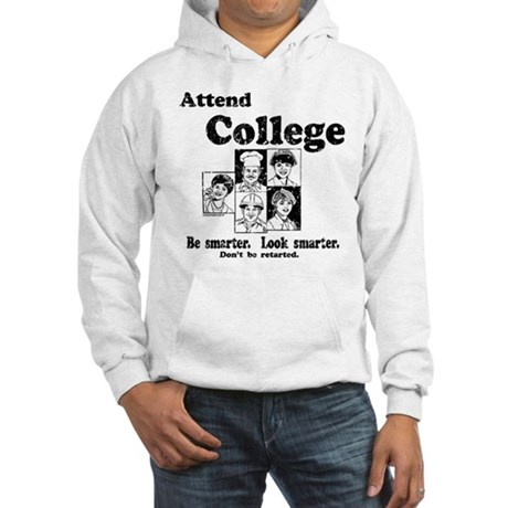 Attend College Hooded Sweatshirt