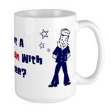 Funny Sexy gay men Mug