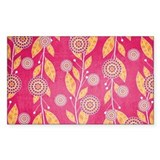 Pomegranate Paradise Bumper Stickers