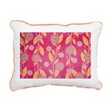 Pomegranate Paradise Rectangular Canvas Pillow