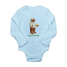 Sleepy Time Bear Baby Suit