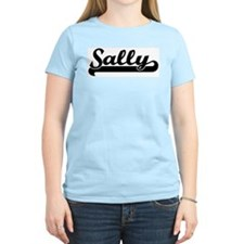 Black jersey: Sally Women's Pink T-Shirt