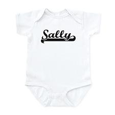 Black jersey: Sally Infant Bodysuit