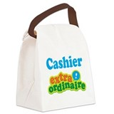 Cashier Extraordinaire Canvas Lunch Bag