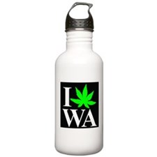 I Love WA Water Bottle