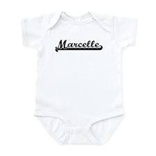 Black jersey: Marcelle Infant Bodysuit