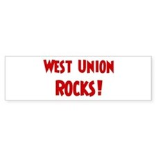 West Union Rocks Bumper Bumper Sticker
