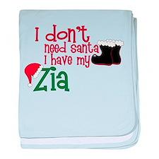 I Have My Zia baby blanket