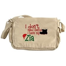 I Have My Zia Messenger Bag