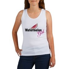 Watermelon Girl Women's Tank Top