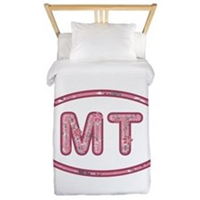 MT Pink Twin Duvet