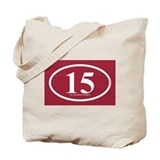 15 Championships Tote Bag