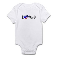 American Russian Infant Body Suit