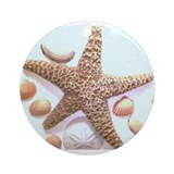 Sea Shells Ornament (Round)