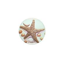 Sea Shells Mini Button (10 pack)