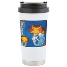Jellyfish Ceramic Travel Mug