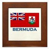 Bermuda Flag Stuff Framed Tile