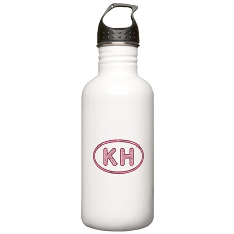 KH Pink Stainless Water Bottle 1.0L