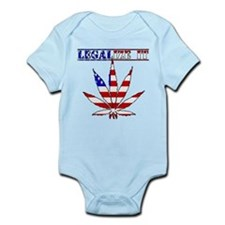 Legalize it America Onesie