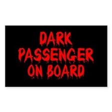Dark Passenger On Board Decal