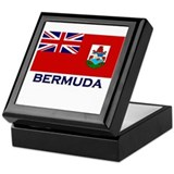 Bermuda Flag Gear Keepsake Box