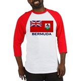 Bermuda Flag Gear Baseball Jersey