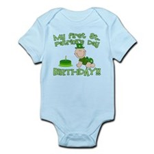 First St Patrick's Day Birthday Infant Bodysuit