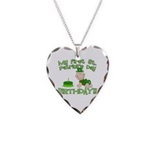 First St Patrick's Day Birthday Necklace