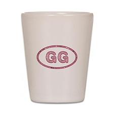 GG Pink Shot Glass