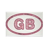 GB Pink Rectangle Magnet