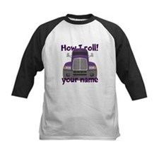 Personalized How I Roll Trucker Tee