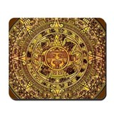 Aztec Calendar Mousepad
