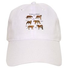 Tigers of the World Baseball Cap