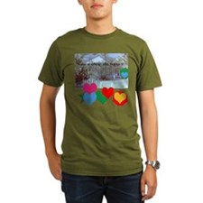 old cottage home is where the heart is T-Shirt