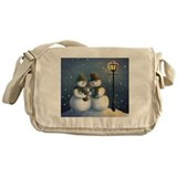 Snow Family Messenger Bag