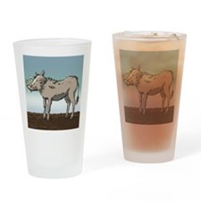 Lonely Warthog Drinking Glass