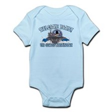 Welcome Home! CVN-73 Infant Bodysuit