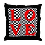 Psychedelic LOVE IV.jpg Throw Pillow
