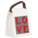 Psychedelic LOVE IV.jpg Canvas Lunch Bag