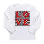 Psychedelic LOVE IV.jpg Long Sleeve Infant T-Shirt