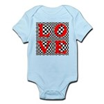 Psychedelic LOVE IV.jpg Infant Bodysuit