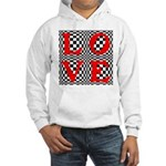 Psychedelic LOVE IV.jpg Hooded Sweatshirt